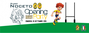 Rugby Noceto Opening Party
