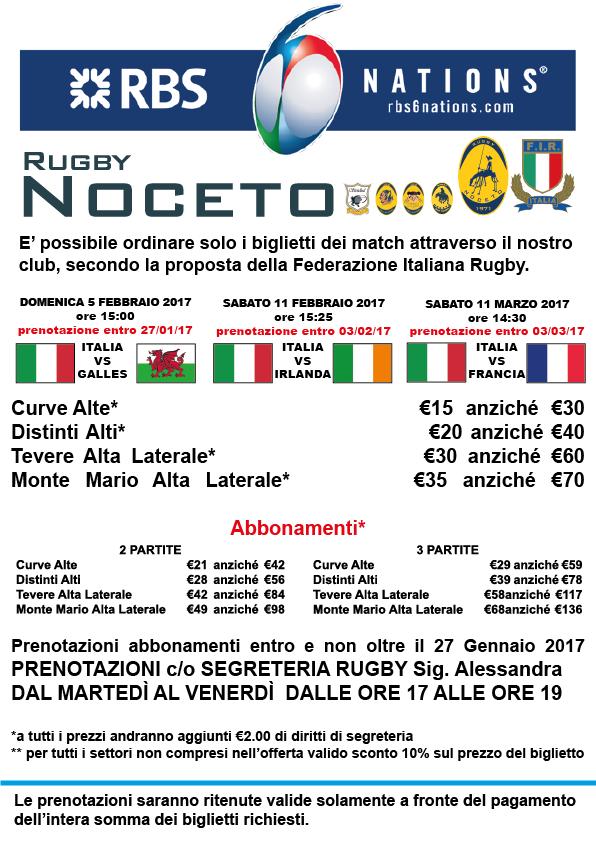 Vivi la magia del Sei Nazioni con il Rugby Noceto