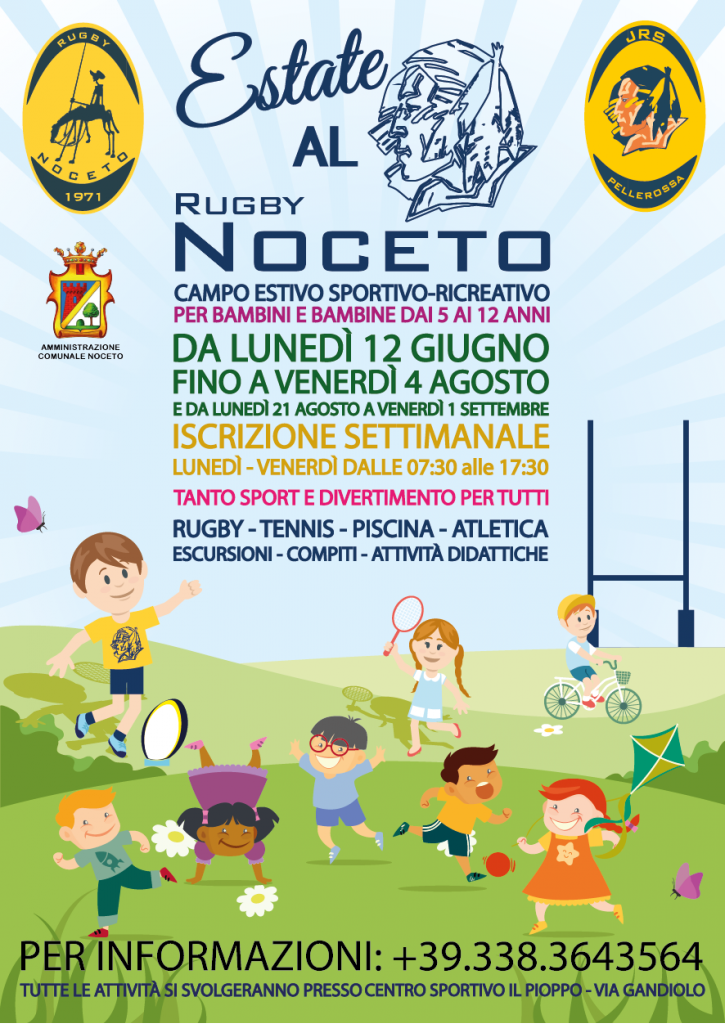 estate al rugby